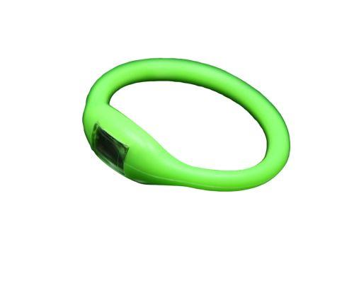 une Montre Bracelet Sport Verte