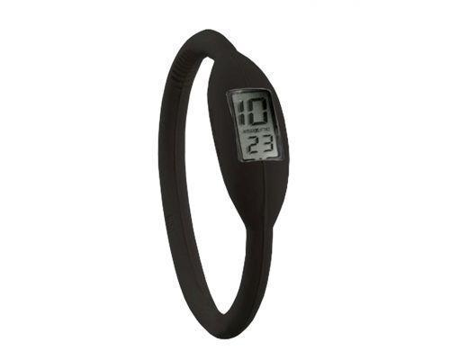 une Montre Bracelet Sport Noire