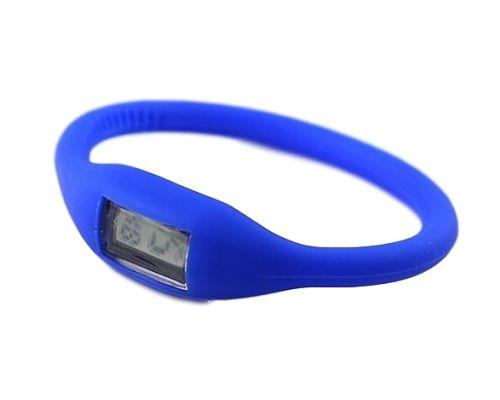 une Montre Bracelet Sport Bleue