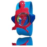 une Montre Digitale à Relief Spiderman