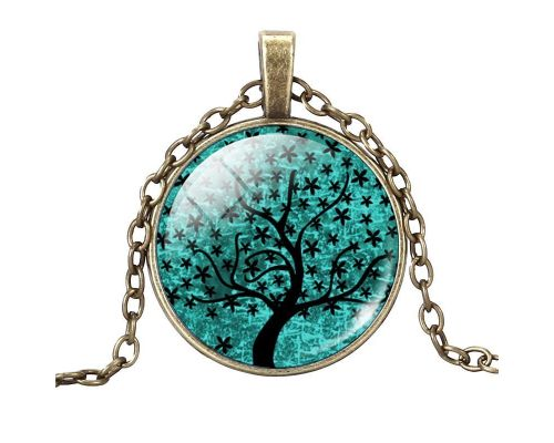 a Tree of Life Pendant - Water