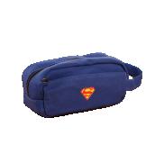 une Trousse Ecolier Superman Bleu