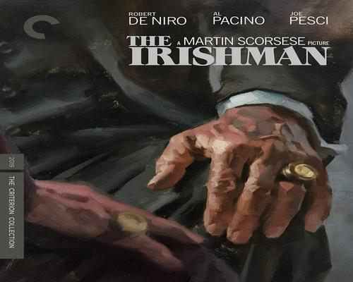 a Movie The Irishman (The Criterion Collection) [Blu-Ray]