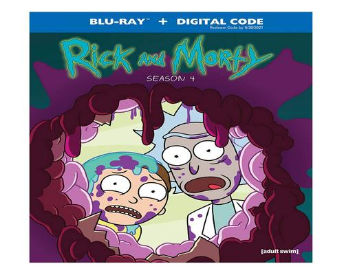 a Movie Rick & Morty: Season 4 (Blu-Ray)