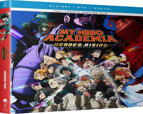 a Movie My Hero Academia: Heroes Rising [Blu-Ray]