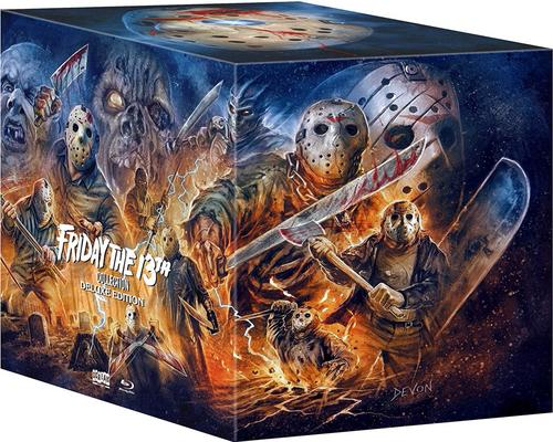 a Movie Friday The 13Th Collection [Blu-Ray]