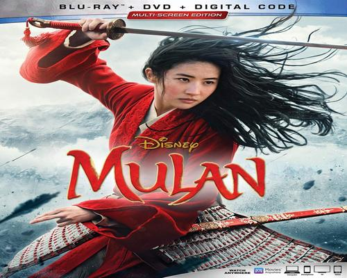 a Movie Mulan [Blu-Ray]