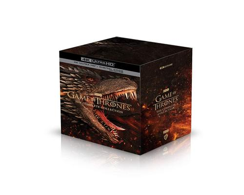 a Movie Game Of Thrones: The Complete Collection (4K Uhd + Digital Copy) [Blu-Ray]