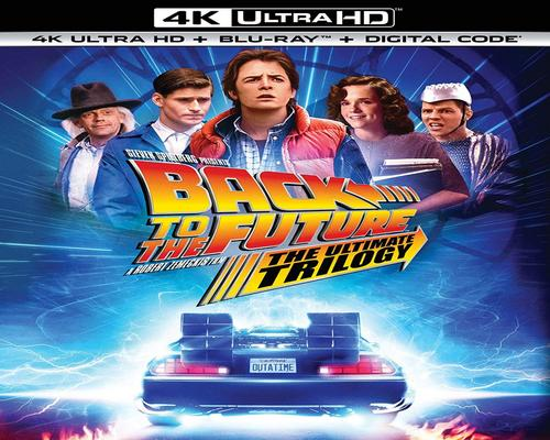 a Movie Back To The Future: The Ultimate Trilogy [Blu-Ray]