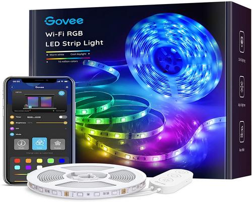 Een Ribbon Govee Strip Led Smart Wifi Led 5M Rgb Multicolor App Control