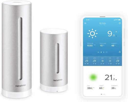 eine Netatmo Indoor Outdoor Wifi Station