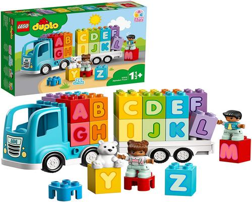 Lego Duplo Game Letter Truck, S Letter Learning Bricks