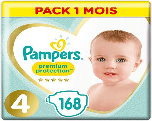 One Luier Pampers Maat 4