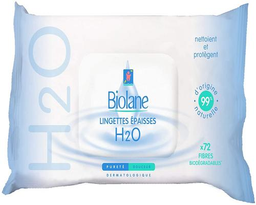 ein Biolane Thick Cleansing Wipe H2O Ecorecharge