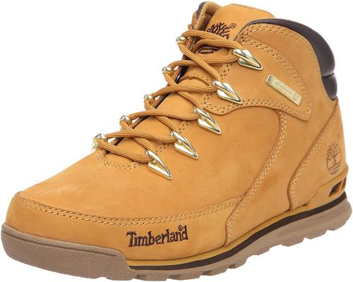 A Pair Of Timberland Euro Rock Hiker Boots