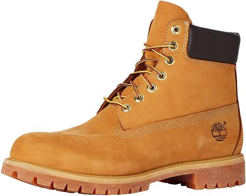 A Pair Of Timberland 6 Inch Premium Boots