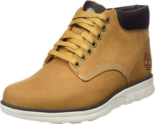 A Pair of Timberland Bradstreet Chukka Leather Boots