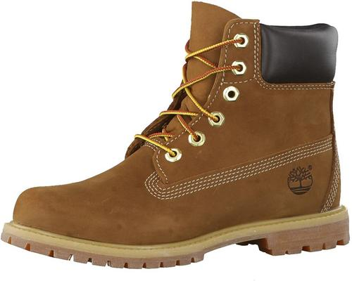 A Pair Of Timberland 6 Inch Premium Waterproof Boots