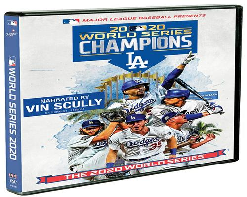 a Movie 2020 World Series Champions: Los Angeles Dodgers [Dvd]