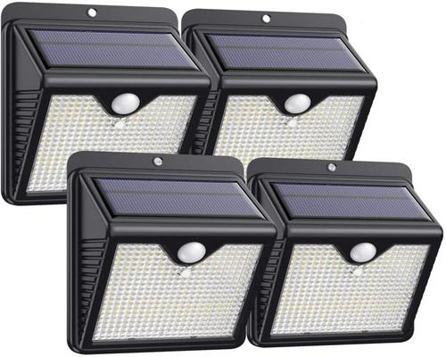 a Lighting Trswyop Outdoor Solar Lamp 4 Pack 150 LED's