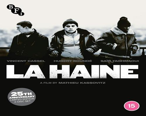 a Dvd La Haine (2-Disc Blu-Ray, 25Th Anniversary Edition)