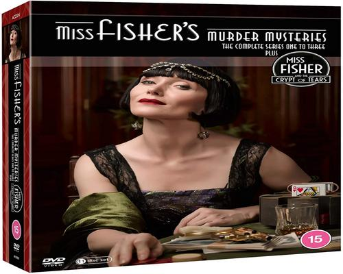 a Dvd Miss Fisher'S Murder Mysteries S1-3 & Crypt Of Tears Box Set [Dvd]