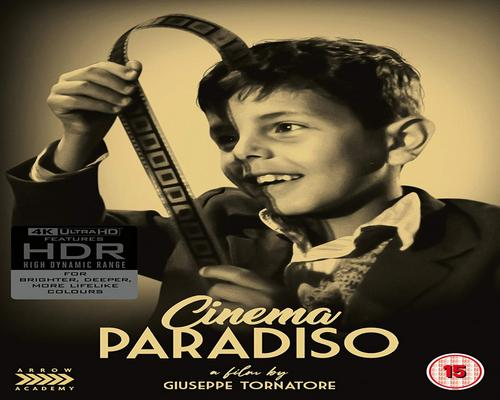 a Dvd Cinema Paradiso [4K Uhd Blu-Ray]
