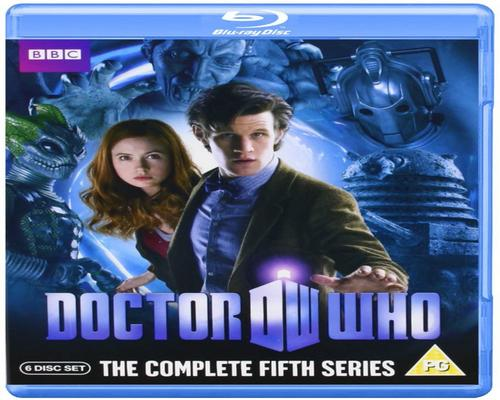 een Dvd Doctor Who: The Complete Fifth Series