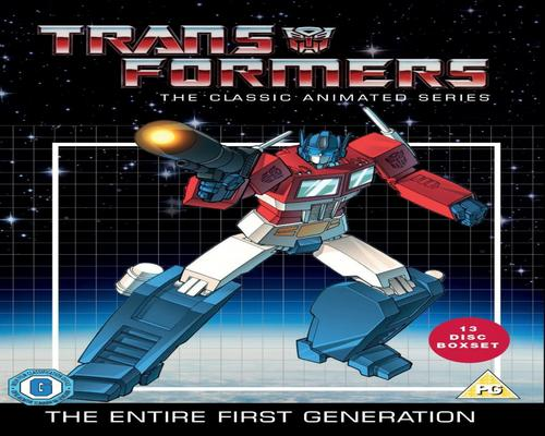 een Dvd Transformers: The Classic Animated Series