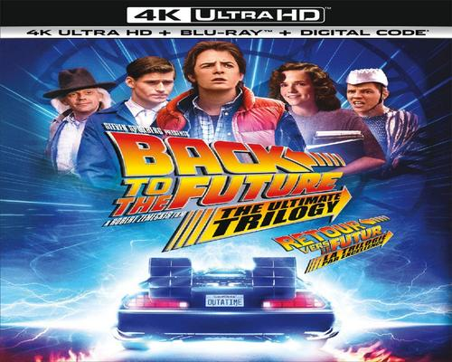 a Movie Back To The Future: The Ultimate Trilogy [Blu-Ray] (Sous-Titres Français)