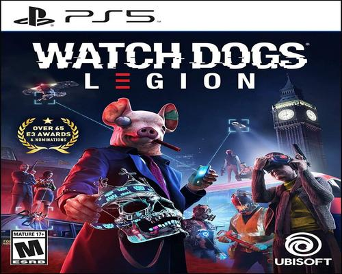a Set Of Accessory Watch Dogs: Legion Playstation 5 Standard Edition