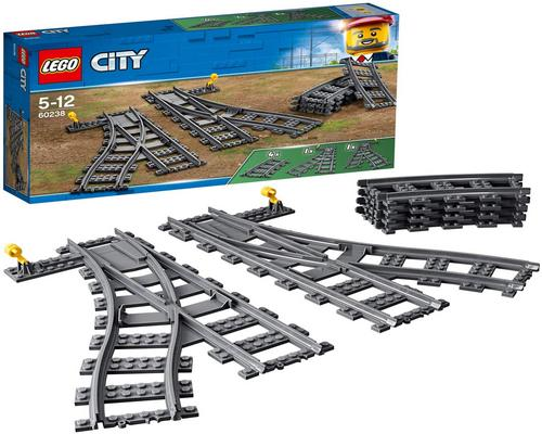 ein Lego City Switch 60238 Zugspiel