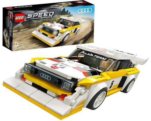 a Lego Speed ​​Champions Audi Sport Quattro S1 Game