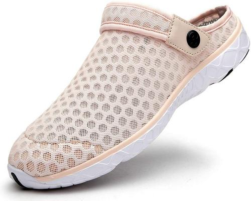 A Pair Of Mules Women Men Breathable Perforated Garden Shoes Slippers Summer Sandals Shoes