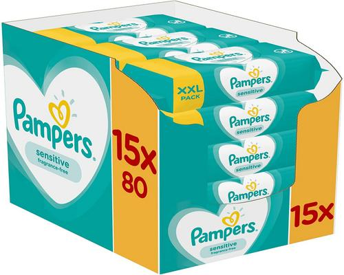 ein Pampers Sensitive Wipe