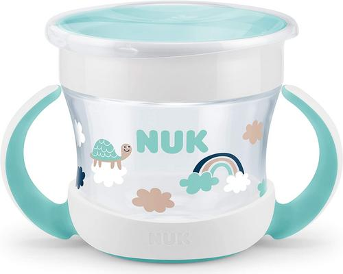 eine Tasse Nuk Mini Magic Cup Baby