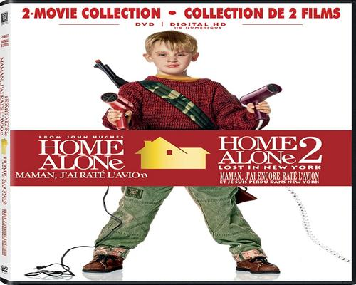 a Movie Home Alone / Home Alone 2: Lost In New York Double Feature (Bilingual) [Dvd + Digital Copy]