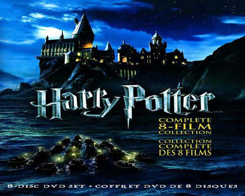 a Movie Harry Potter: The Complete 8-Film Collection (Bilingual)