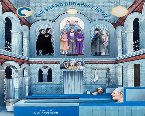 a Movie The Grand Budapest Hotel (The Criterion Collection) [Blu-Ray]