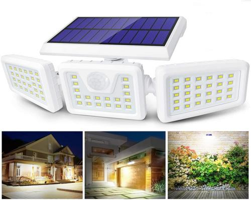 A Claoner Lighting 70 Led Solar Lamp From To Motion
