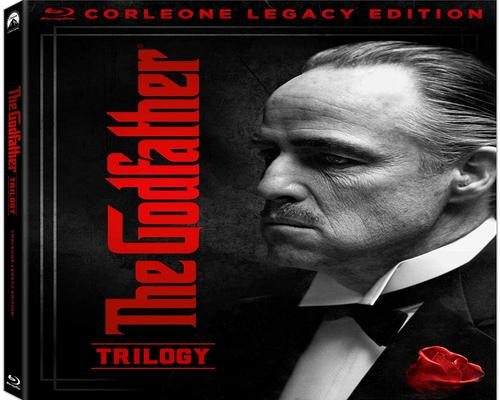 a Movie The Godfather Trilogy: Corleone Legacy Edition [Blu-Ray]