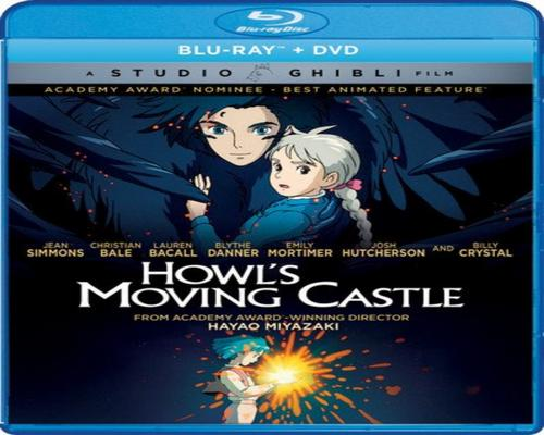 a Movie Howl'S Moving Castle [Blu-Ray]