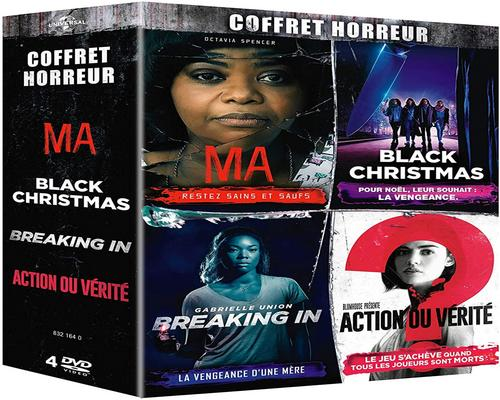 a Horror Box Film: Ma + Black Christmas + Breaking In + Truth or Dare