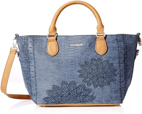 un Sac Desigual Bag Aquiles Florida Female Blue