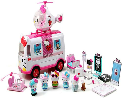 a Smoby- Hello Kitty-Relief Playset