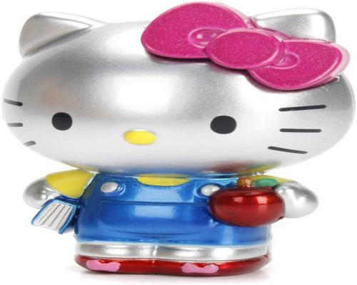 One Dickie Toys 253240001 Hello Kitty Diecast Collectible Figure 3 Different Versions Scope of Delivery