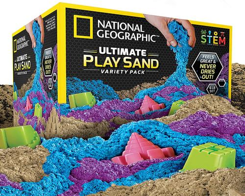en National Geographic Sand