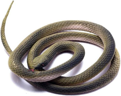 A Halloween Snake Simulation Rubber Fake Python Animal L Or April Fool's Day