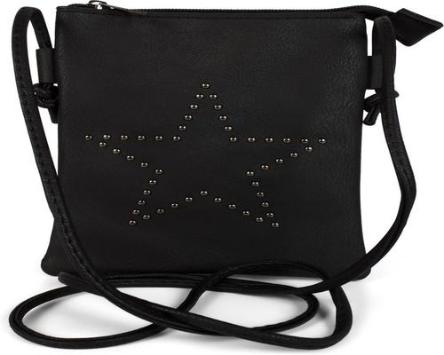 a Stylebreaker Mini Satchel Bag With Star Cutouts