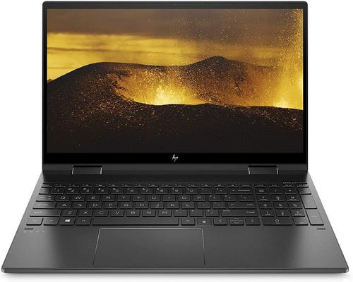 "un Ordinateur Hp Envy X360 15-Ee0000Sf/15-Ee0004Nf Pc Convertible Et Tactile 15,6"" Fhd Ips Aluminium Noir"